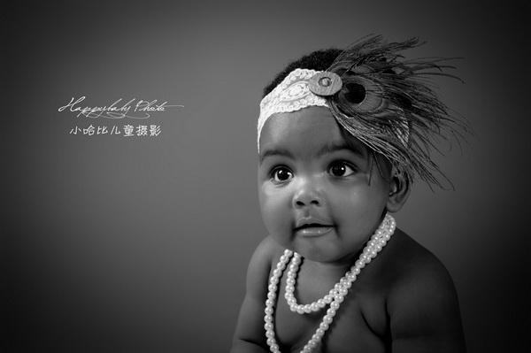黑人宝宝写真