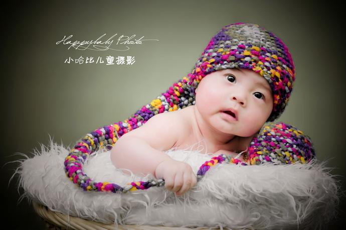 史上最萌宝宝照 - 组图作品 - 广州小哈比创意儿童摄影