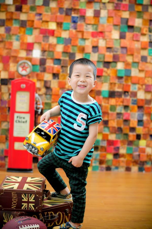 灏灏3周岁生日纪念照